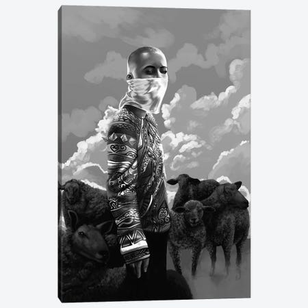 Black Sheep Canvas Print #EPP4} by alvinpbx Canvas Print