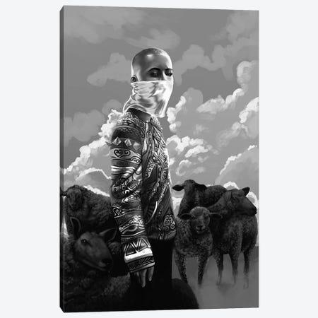 Black Sheep Canvas Print #EPP4} by Alvin Epps Canvas Print