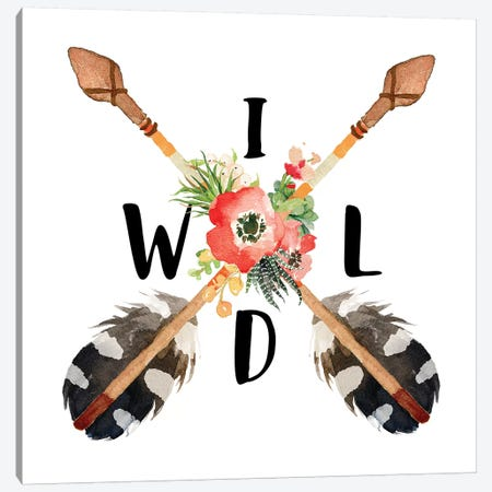 Wild Canvas Print #EPT127} by Eden Printables Canvas Art
