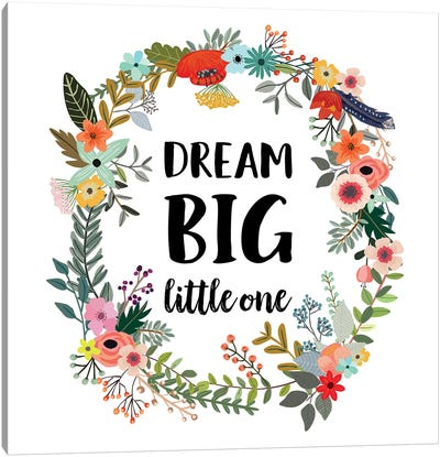 Dream Big Little One Canvas Art Print