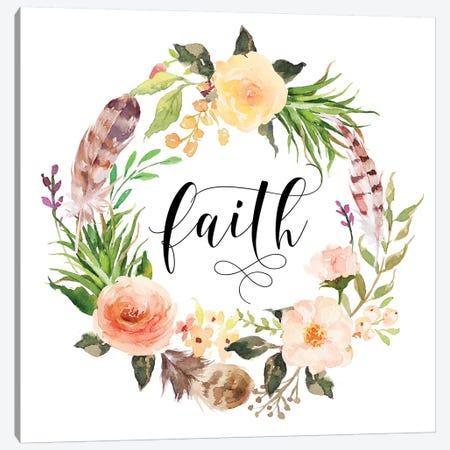 Faith Canvas Print #EPT32} by Eden Printables Art Print