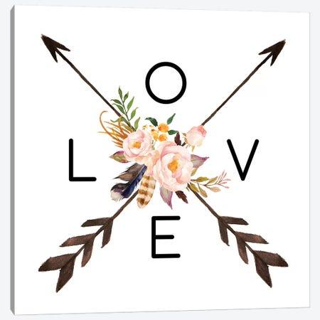 Love Canvas Print #EPT80} by Eden Printables Canvas Art