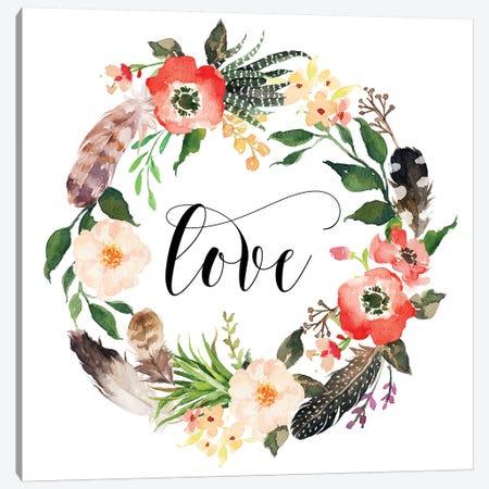 Love II Canvas Print #EPT83} by Eden Printables Canvas Artwork