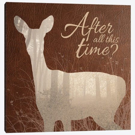 After All This Time Canvas Print #EQU1} by 5by5collective Canvas Art