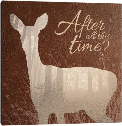 After All This Time Canvas Art Print