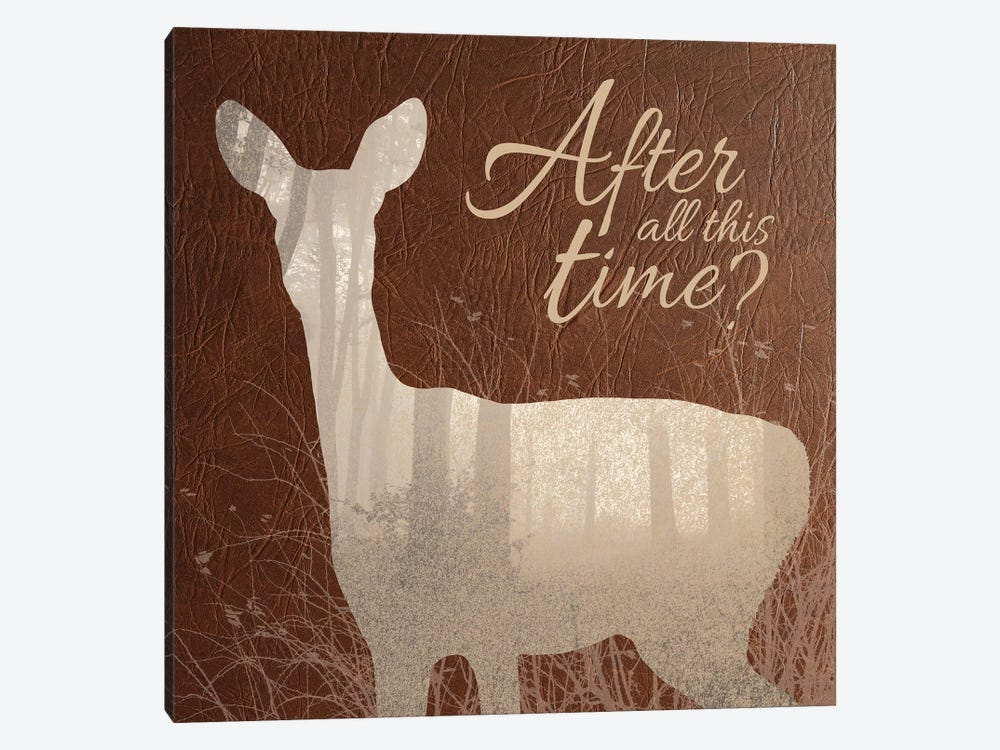 After All This Time by 5by5collective 1-piece Canvas Print