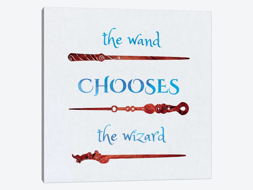 The Wand Chooses by 5by5collective 1-piece Canvas Wall Art