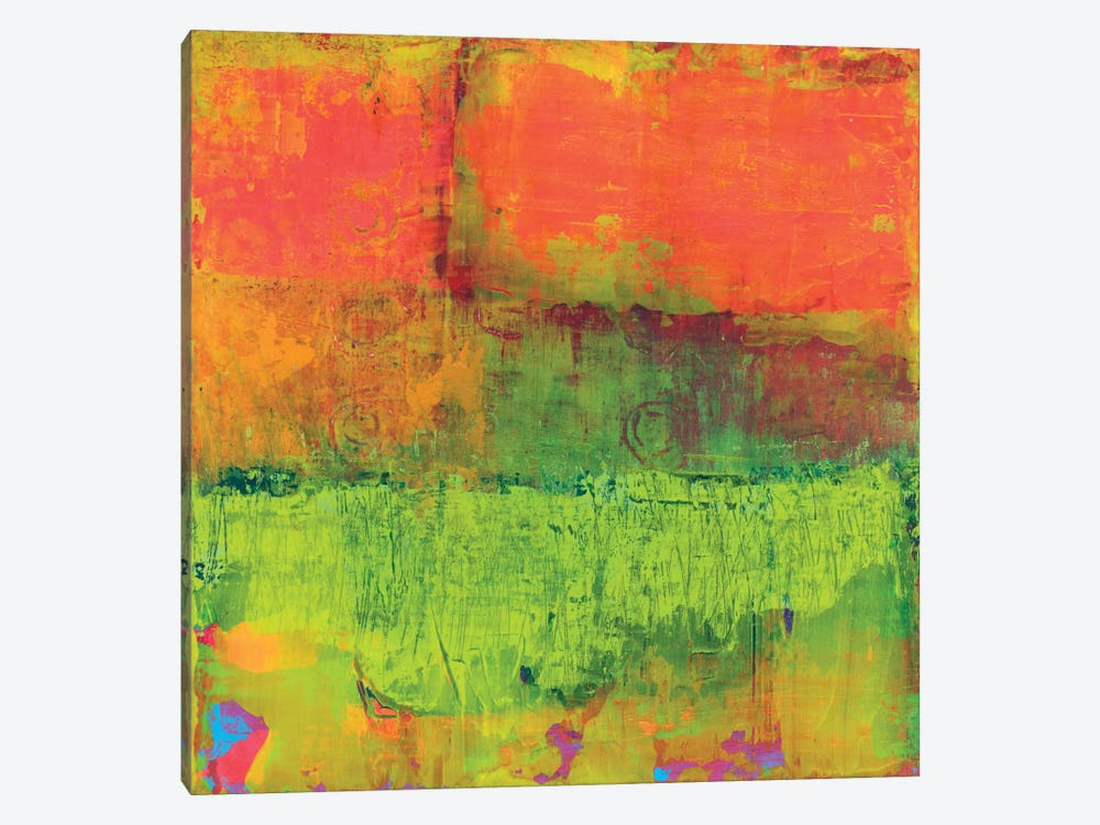 Hi-Fi Abstract IV by Elena Ray 1-piece Canvas Art