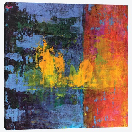 Hi-Fi Abstract VI 3-Piece Canvas #ERA6} by Elena Ray Art Print