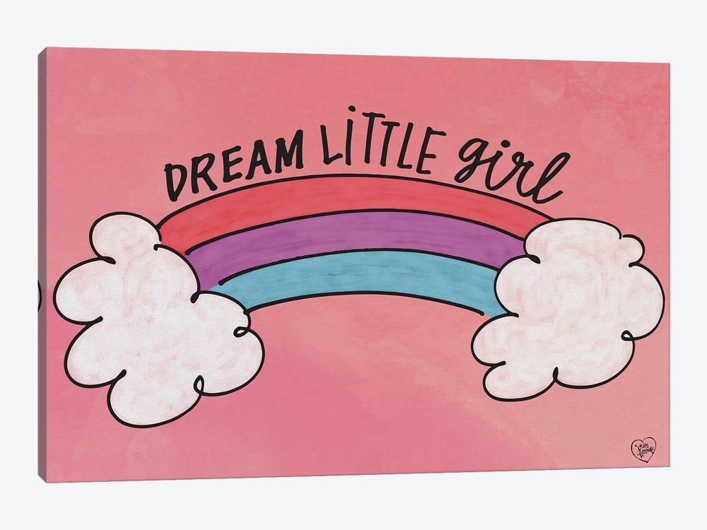 Dream Little Girl by Erin Barrett 1-piece Canvas Art