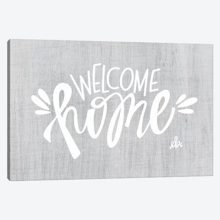 Welcome Home Canvas Print #ERB110} by Erin Barrett Canvas Art Print