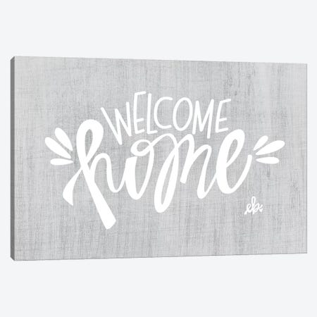 Welcome Home 3-Piece Canvas #ERB110} by Erin Barrett Canvas Art Print