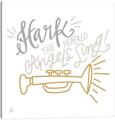 Hark The Herald Angels Sing    Canvas Art Print