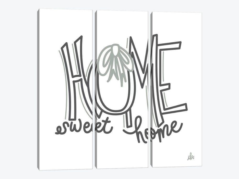 Home Sweet Home    by Erin Barrett 3-piece Art Print