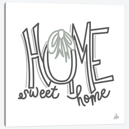 Home Sweet Home    Canvas Print #ERB115} by Erin Barrett Canvas Wall Art