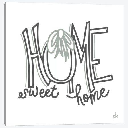 Home Sweet Home    Canvas Print #ERB115} by Erin Barrett Canvas Wall Art