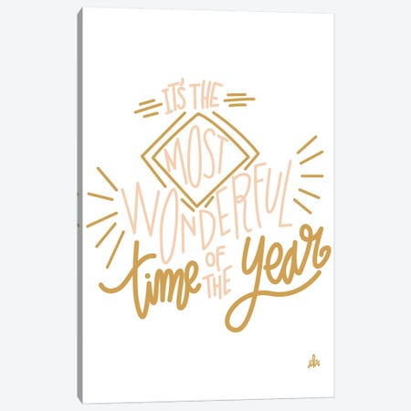 It's The Most Wonderful Time Of The Year   Canvas Print #ERB118} by Erin Barrett Canvas Art Print