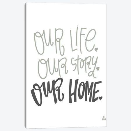Our Home   Canvas Print #ERB121} by Erin Barrett Canvas Wall Art