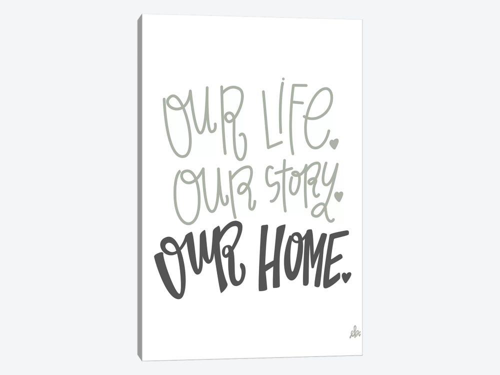 Our Home   by Erin Barrett 1-piece Canvas Art