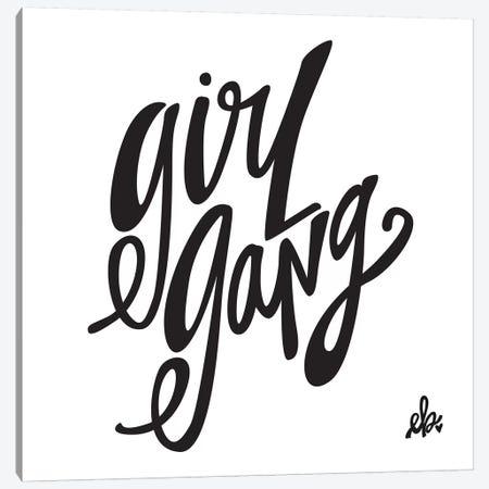 Girl Gang Canvas Print #ERB13} by Erin Barrett Canvas Wall Art