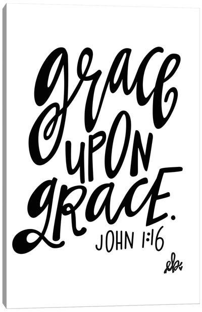 Grace Upon Grace Canvas Art Print