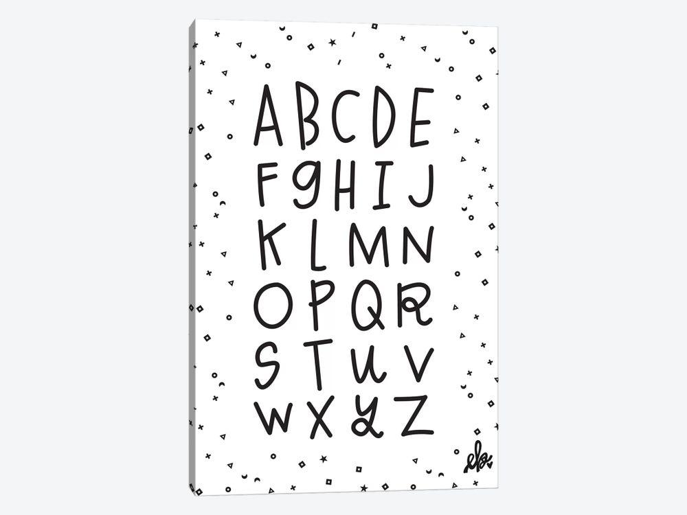 Alphabet by Erin Barrett 1-piece Canvas Artwork