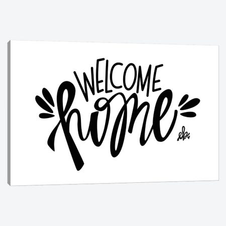 Welcome Home Canvas Print #ERB31} by Erin Barrett Canvas Wall Art