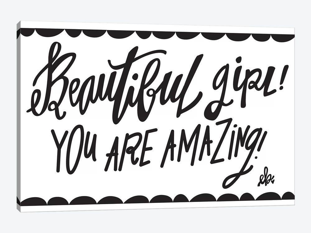 Beautiful Girl! by Erin Barrett 1-piece Canvas Wall Art