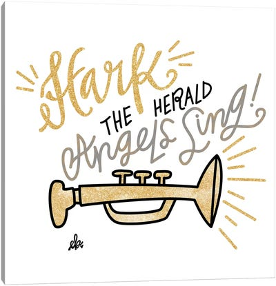 Hark the Herald Angels Sing Canvas Art Print