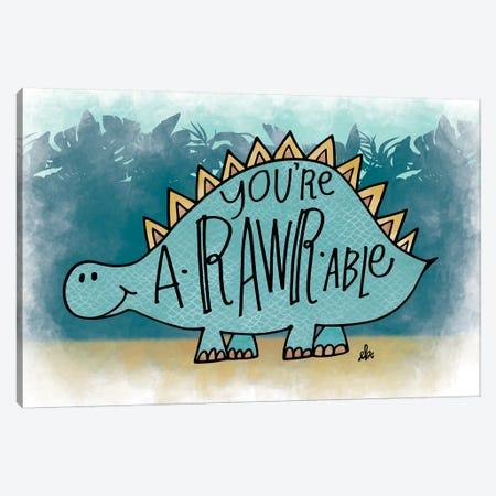 You're aRARWable Canvas Print #ERB74} by Erin Barrett Canvas Art Print