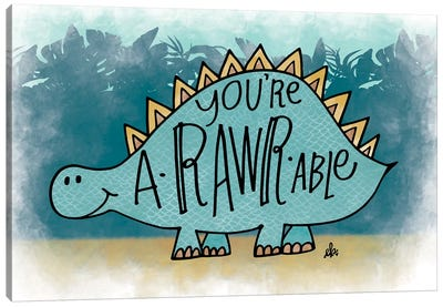 You're aRARWable Canvas Art Print