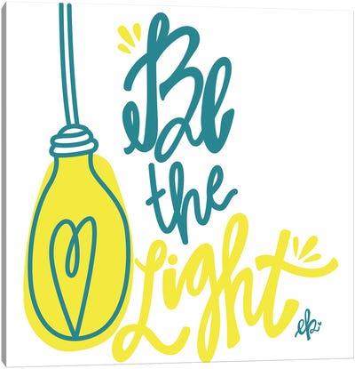 Be the Light Canvas Art Print