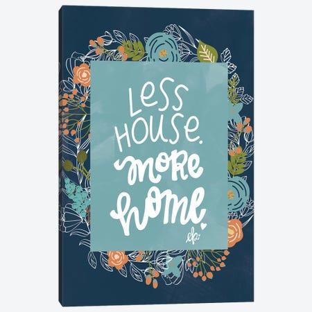 Less House 3-Piece Canvas #ERB88} by Erin Barrett Canvas Art Print