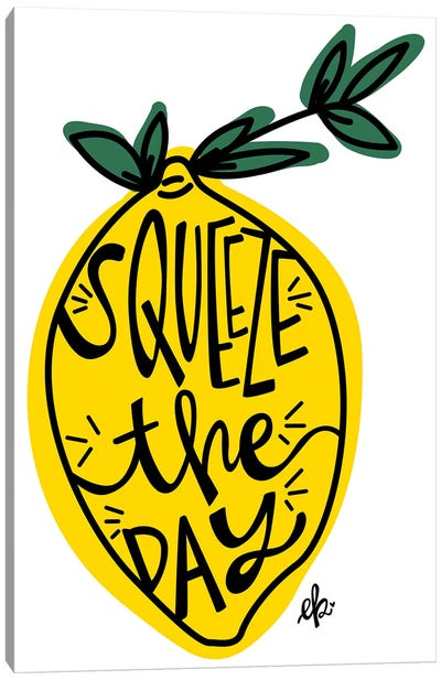 Squeeze the Day by Erin Barrett Canvas Art Print