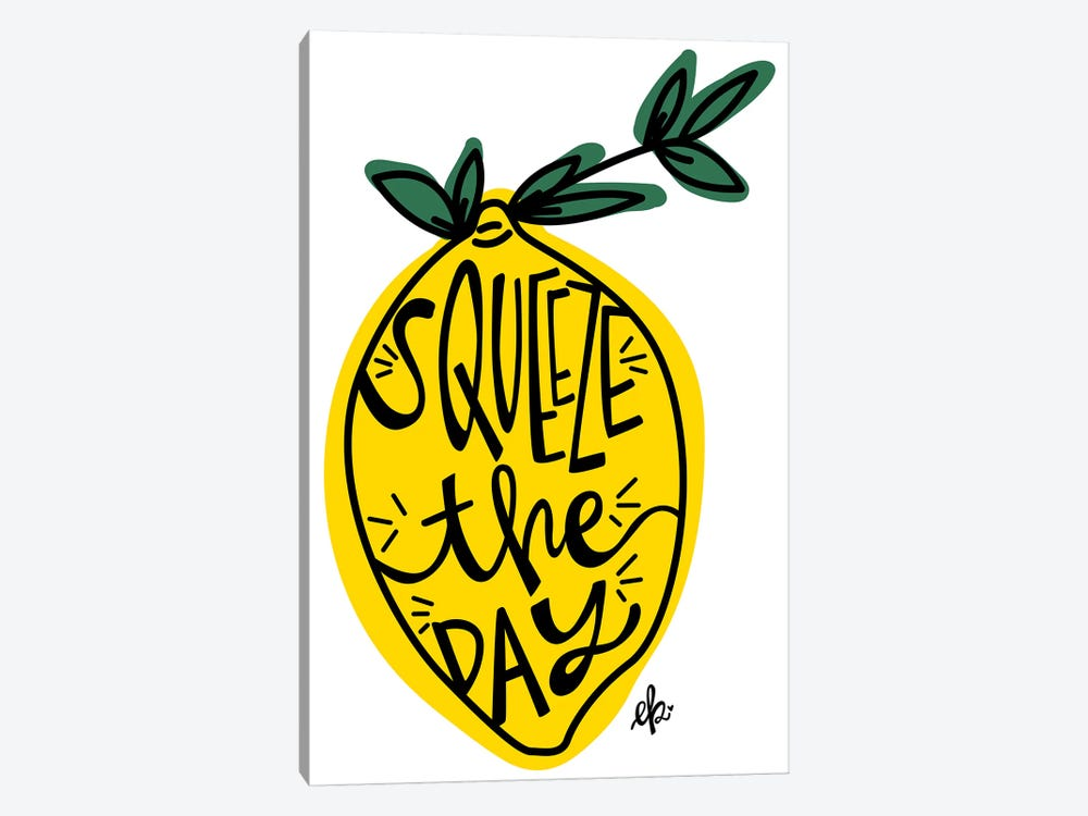Squeeze the Day by Erin Barrett 1-piece Art Print
