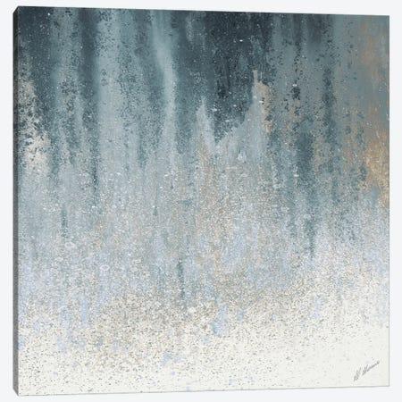 Teal Summer Woods I Canvas Print #ERD11} by M. Mercado Canvas Art