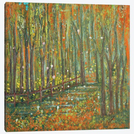 Woods Canvas Print #ERD14} by M. Mercado Canvas Art Print