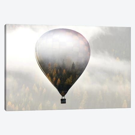 Get Lost In The World Canvas Print #ERE1} by Eros Erika Canvas Art
