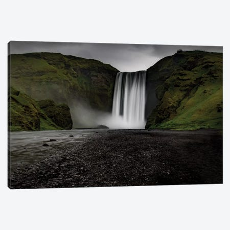 Iceland Waterfall Skogafoss Canvas Print #ERF41} by Eric Fisher Art Print