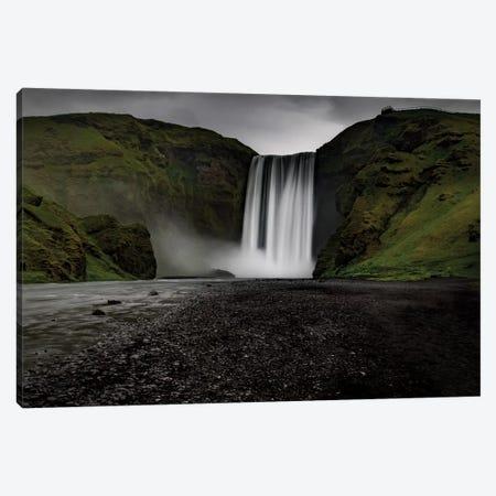 Iceland Waterfall Skogafoss Canvas Print #ERF41} by Eric Fisher Art Print