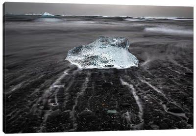Icelandic Ice Canvas Art Print