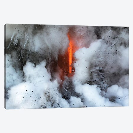 Lava Explosion Canvas Print #ERF43} by Eric Fisher Art Print