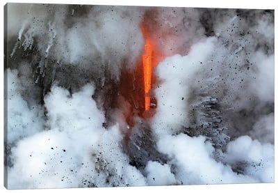 Lava Explosion Canvas Art Print