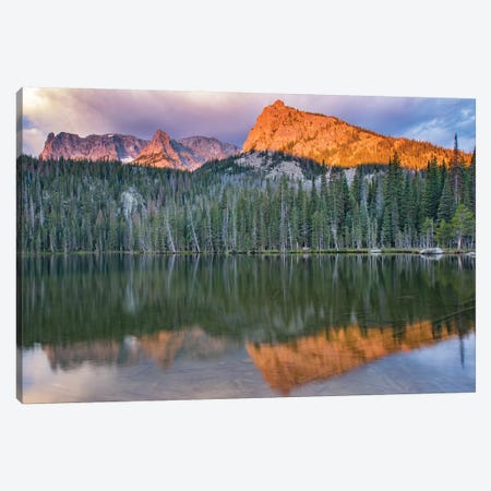 Rocky Mountain Sunrise Canvas Print #ERF55} by Eric Fisher Canvas Art Print
