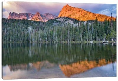 Rocky Mountain Sunrise Canvas Art Print