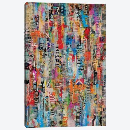 Metro Mix 22 Canvas Print #ERI105} by Erin Ashley Canvas Art