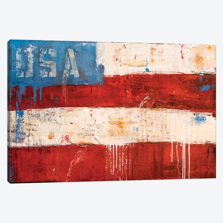 Rockin In The USA Canvas Print #ERI108} by Erin Ashley Canvas Print