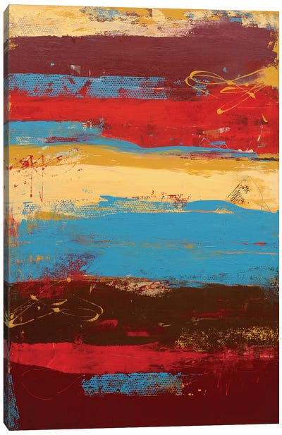 Rockin Moroccan Print Canvas Art Print