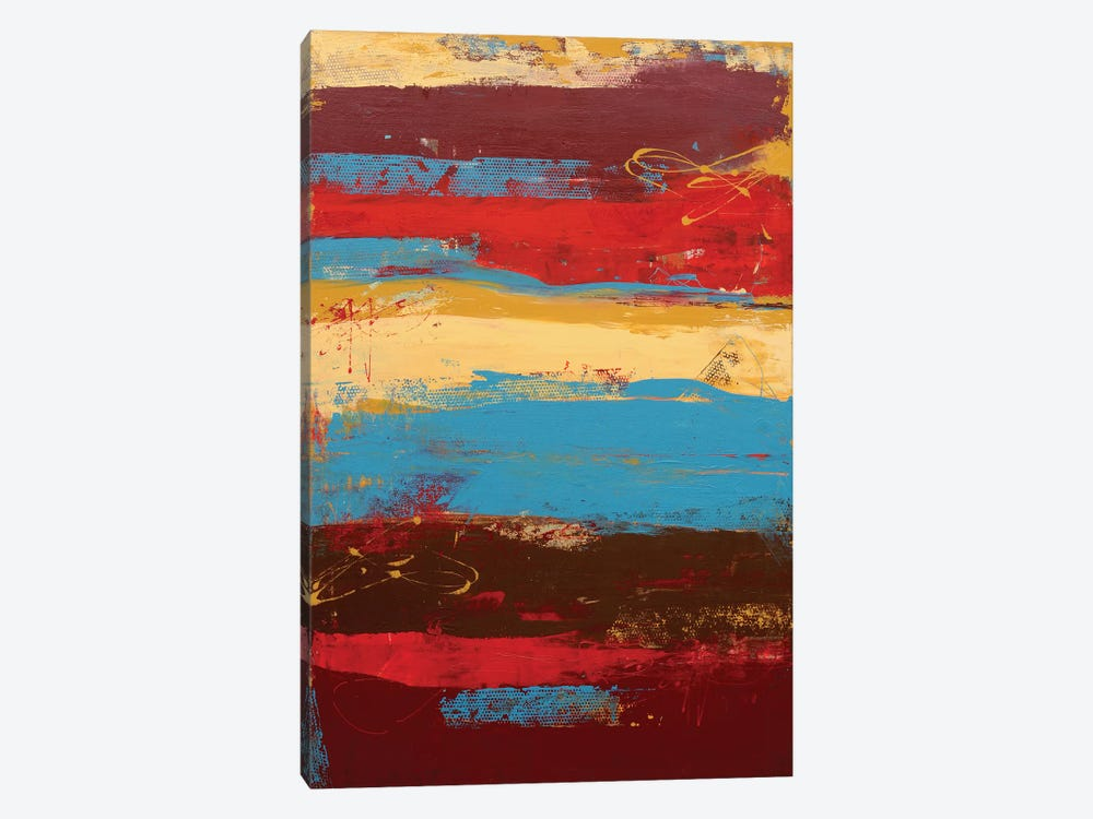 Rockin Moroccan Print by Erin Ashley 1-piece Canvas Art Print
