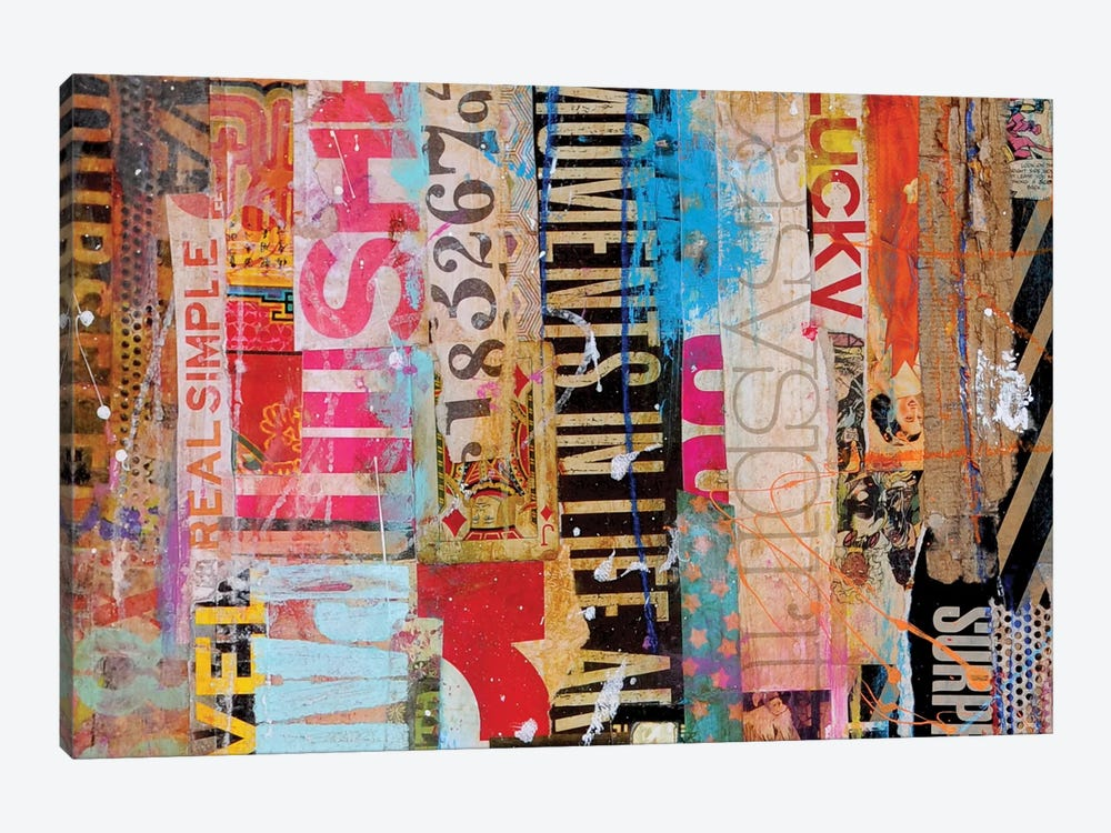 Metro Mix 21 I by Erin Ashley 1-piece Canvas Artwork